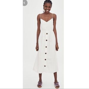 Zara white sundress